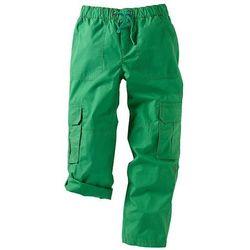 Spodnie bojówki bonprix zielona papryka