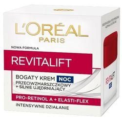 LOREAL Paris 50ml Revitalift Bogaty krem przeciwzmarszczkowy i silnie