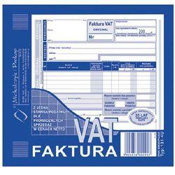 Faktura VAT-z jedną stawką podatku dla prowadzących sprzedaż w cenach netto 2/3 A5