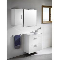 Zestaw łazienkowy Unik Compacto 60cm z 2 szufladami Roca Debba A855905806 Biały połysk