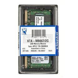 Pamięć RAM Kingston Ded.NB 2GB 667MHz DDR2 - KTA-MB667/2G