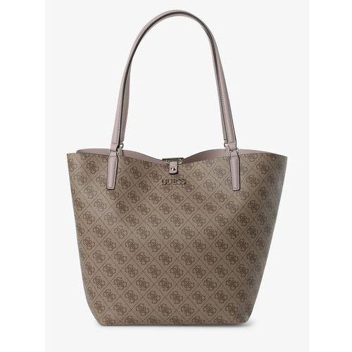 Guess Jeans Damska torba shopper z torebką wewnętrzną, beżowy