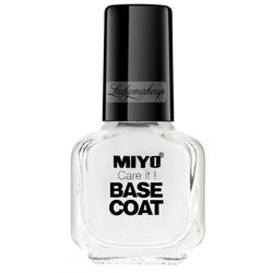 MIYO - Care it! BASE COAT - Baza pod lakier do paznokci