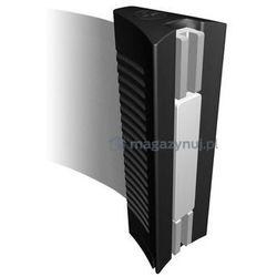 Rozwijana taśma ostrzegawcza ESD + kaseta MINI na śruby, zapięcie magnetyczne (Długość 3,65m)