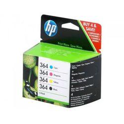 Zestaw tuszy HP 364 (SD534EE) CMYK do drukarek (Oryginalny)