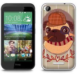 Fantastic Case - HTC Desire 320 - etui - sherlock