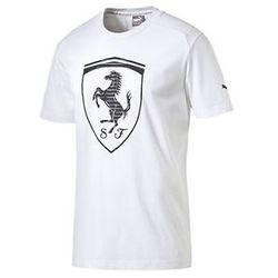 Koszulka Puma Ferrari Big Shield Tee white 2016