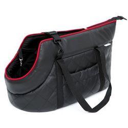 3d2eb0b24c9e4 czarna torebka z trzema komorami na ramie w kategorii Torebki (od R1 ...
