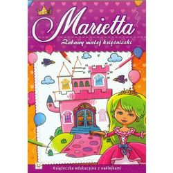 Zabawy małej księżniczki Marietta (opr. miękka)