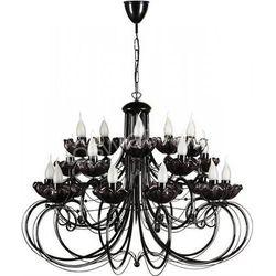 ROSA 20 zwis - żyrandol czarny / lampa wisząca