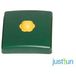 Plastikowa nakładka na belkę kwadratową 95x95 mm - zielony