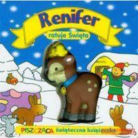Renifer ratuje Święta (opr. kartonowa)