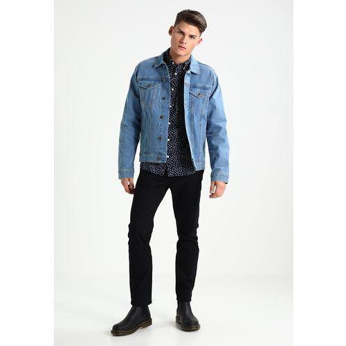 12 midnight kurtka jeansowa czarny