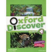 Oxford Discover 4. Ćwiczenia (opr. miękka)