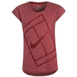 Nike Performance BASELINE Koszulka sportowa team red/hyper pink/team red/white