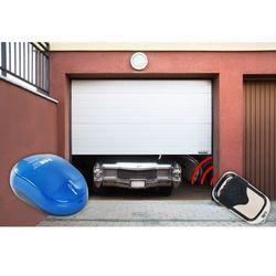 Segmentowa brama garażowa MSW GD2500-I biała napęd