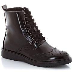Buty wysokie sznurowane