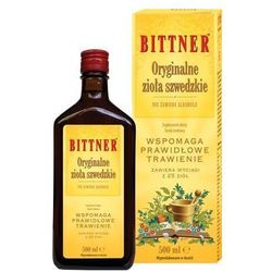 Bittner Oryginalne zioła szwedzkie 500ml Langsteiner