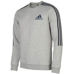Adidas 3 Stripes Crew, bluza męska, granatowa, Rozmiar XXXL