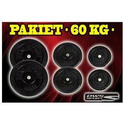 OBCIĄŻENIA ŻELIWNE-ŻELIWO ZESTAW, PAKIET 60 kg