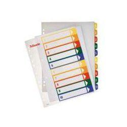 Przekladki numeryczne Esselte Maxi A4/1-12, do nadruku100214