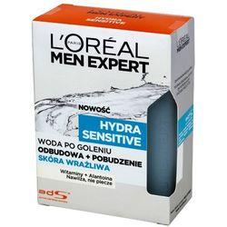 LOREAL Men Expert Hydra Sensitive Woda po goleniu skóra wrażliwa
