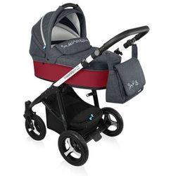 Baby Design, Wózek wielofunkcyjny, Husky New Red Darmowa dostawa do sklepów SMYK