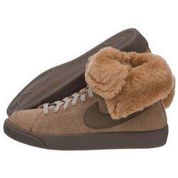 Buty Nike WMNS Blazer High Roll Leather 538254-200 (NI410-b)
