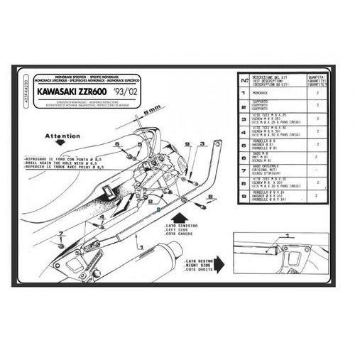 Givi Mocowanie 423F do Kawasaki ZZR600 (Givi)