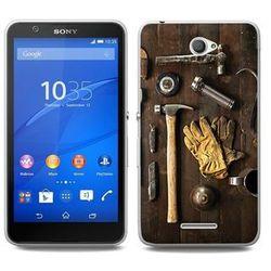 Foto Case - Sony Xperia E4 - etui na telefon Foto Case - narzędzia