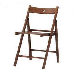 TERJE Krzesło składane, brązowy