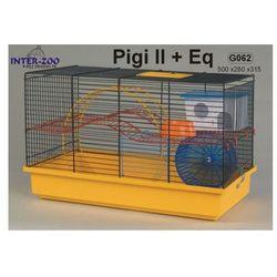 Inter-Zoo klatka dla chomika Pigi II z wyposażeniem