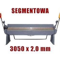 ZAGINARKA GIĘTARKA SEGMENTOWA DO BLACHY MAKTEK 3050mm x 2 mm EWIMAX Promocja (--17%)