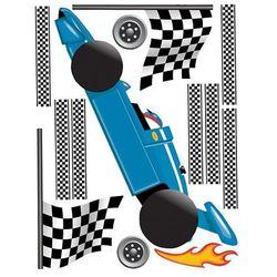 Naklejka dekoracyjna WALLIES Wyścig Grand Prix W13548