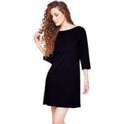 Sukienka z kieszonką czarna