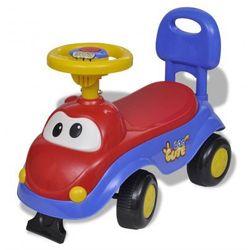 Samochód dla dzieci Jeździk Niebiesko-Czerwony Zapisz się do naszego Newslettera i odbierz voucher 20 PLN na zakupy w VidaXL!