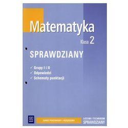 Matematyka, klasa 2, sprawdziany, WSiP