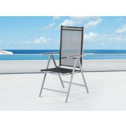 Elegancke krzeslo aluminiowe meble ogrodowe CATANIA