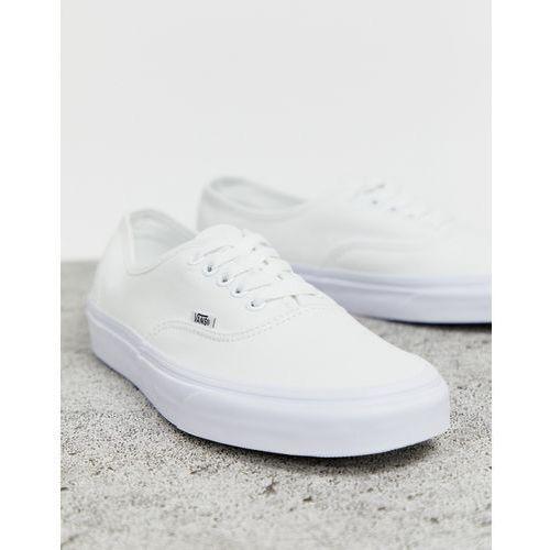 Vans Authentic trainers in white White porównaj zanim kupisz