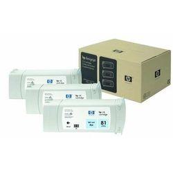 HP oryginalny ink C5070A, No.81, light cyan, 3x680ml, 3szt, HP DesignJet 5000, PS, UV, 5500, PS