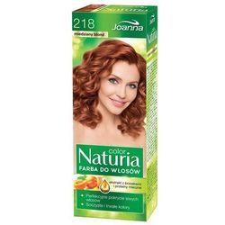 Joanna Naturia Color, farba do włosów, 218 miedziany blond