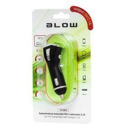BLOW Transmiter FM USB + ładowarka 2,1A