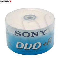 Sony DVD+R 4.7GB 120min 50pk Spindle Bulk