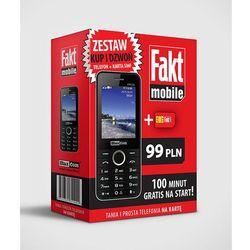 Maxcom MM136 DUAL SIM + starter FAKTMOBILE 100 minut