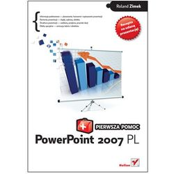 PowerPoint 2007 PL. Pierwsza pomoc (opr. miękka)