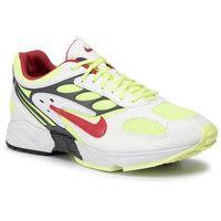 Buty NIKE - Air Ghost Racer AT5410 100 White/Atom Red/Neon Yellow