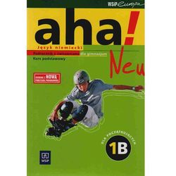 Aha! Neu 1B Podręcznik z ćwiczeniami z płytą CD kurs podstawowy (opr. miękka)