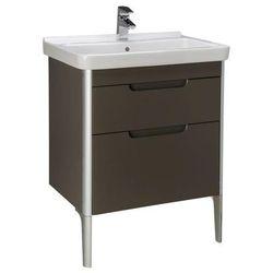 Zestaw łazienkowy Unik 65 cm z 2 szufladami Roca Dama-N A851047806 Biały połysk