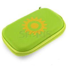4World uniwersalne etui do telefonów GSM zielone słońce - 06254