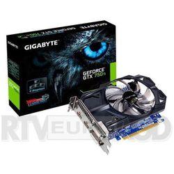 Gigabyte GeForce CUDA GTX750Ti 2GB DDR5 128 DVII/DVID/2HDMI BOX